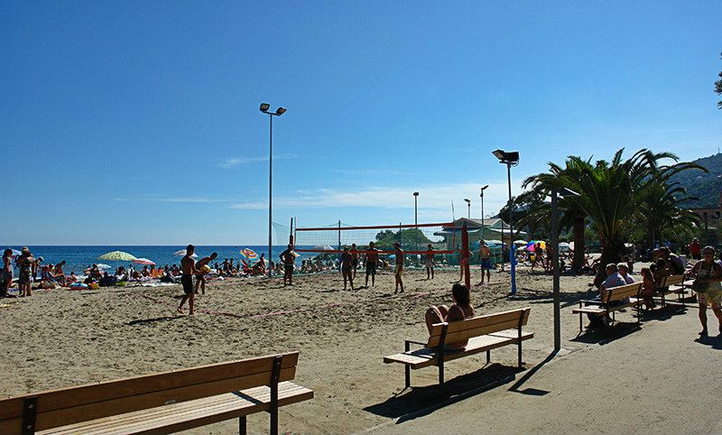 Beach Volley in Andora