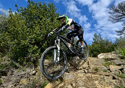 MTB Tour in der Region Ligurien, Italien